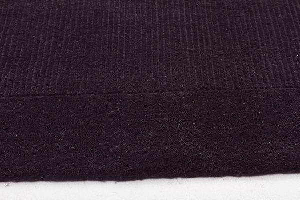 Cut and Loop Pile Rug Charcoal 225x155cm