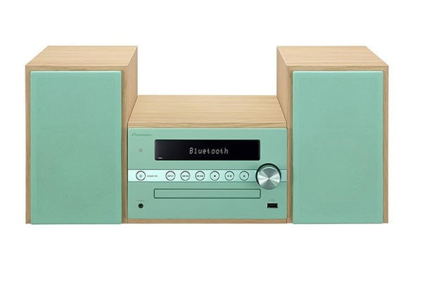 Pioneer DAB+ Micro Hi-Fi Sound System with Bluetooth Speaker - Green (CM56DGR)