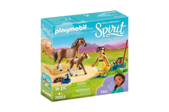 Playmobil Spirit Pru with Horse and Foal Set