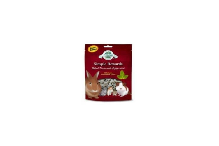 Oxbow Simple Rewards Peppermint Baked Small Pet Treats (May Vary) (60g)