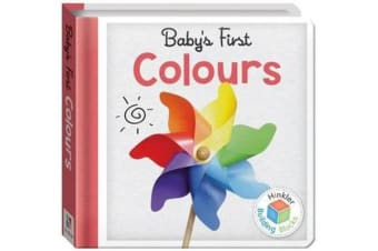 Building Blocks Colours Baby's First Padded Board Book (UK)