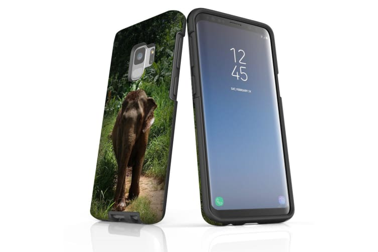 For Samsung Galaxy S9 Case Armour Cover  Running Elephant