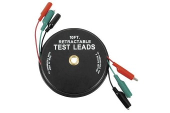 Handy Retractable 3m Alligator Test Lead Set