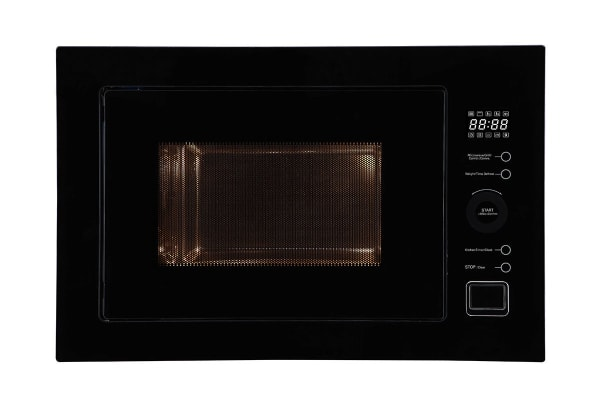Residentia 25 Litre Built-in Convection Microwave with Touch Control - Black Glass (MC25BF)