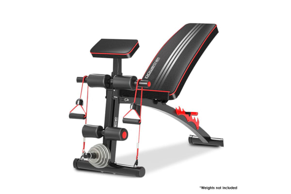 Powertrain adjustable incline decline flat home gym bench