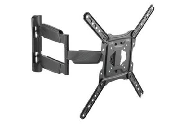 """Black Dot 23"""" - 55"""" TV Wall Bracket with Tilt and Swivel- Tested in New Zealand to AS/NZ Standards-"""