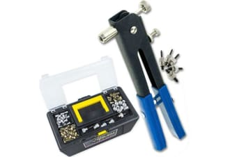 1064pc Rivnut Nutsert Tool Kit with M3-M8 Range