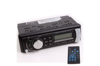 DNA MA44BB BLACK MARINE AUX AM FM RADIO CD MP3 IPOD USB BLUETOOTH 4x 25W WATTS