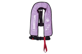 Lilac Watersnake Manual Inflatable PFD - Level 150 Adult Life Jacket