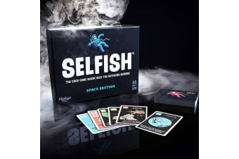 Selfish: Space Edition | The Ruthless Strategy Card Game For Ages 7+!