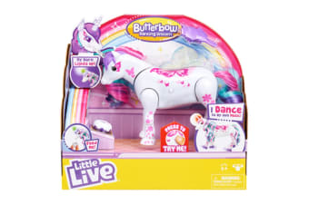 Little Live Pets Butterbow Dancing Unicorn