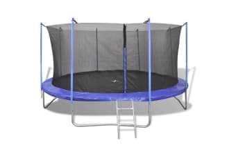 vidaXL Five Piece Trampoline Set 3.96 m
