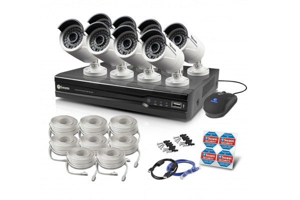 Swann 8 Channel 4MP Network Video Recorder with 8 x NHD-818 4MP Cameras (SWNVK-874008-AU)