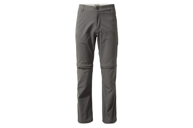 Craghoppers Mens NosiLife Pro Convertible II Trousers (Elephant) (34S)