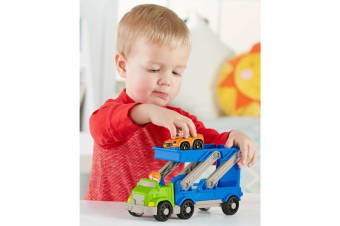 Fisher Price Little People Ramp 'N Go Car Carrier