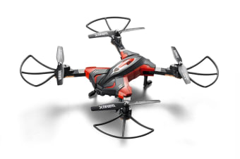 Swann Xtreem Drone with 720p Wi-Fi Camera, Folding Propeller Arms & Smartphone Control (XTTOY-MOSCA1)