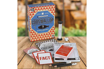 The Codswallop Guessing Game | fibbing lying cards card dice guess