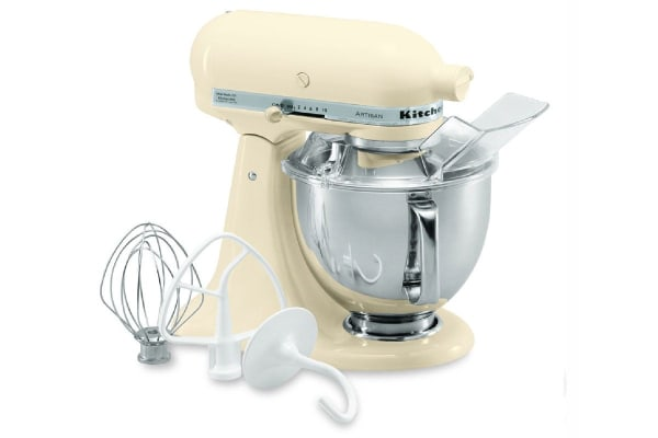 KitchenAid KSM150 Artisan Stand Mixer - Almond Cream (5KSM150PSAAC)
