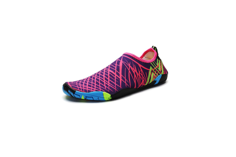 Beach Snorkeling Shoes Diving Lovers Wading Shoes Swimming Shoes 988 Purple 38