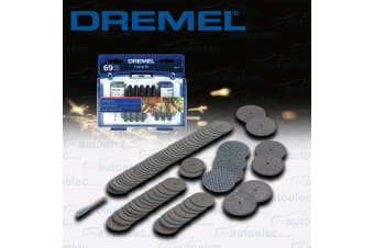 DREMEL 69 PIECE ROTARY MULTI TOOL SLICING CUTTING CUT ACCESSORY KIT 688-01