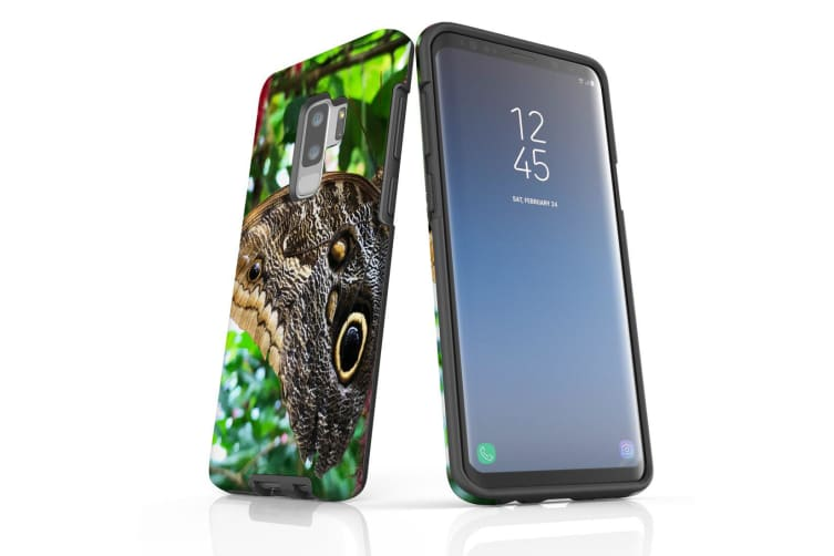 For Samsung Galaxy S9+ Plus Case Armour Cover  Butterflies Eyes