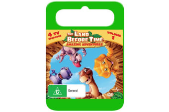 The Land Before Time Amazing Adventures DVD Region 4