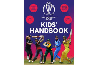 ICC Cricket World Cup England & Wales 2019 Kids' Handbook - Star players and top teams, puzzles and games, fill-in results charts