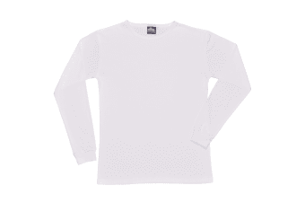Portwest Mens Thermal Underwear Long Sleeved T-Shirt (B123) (White)