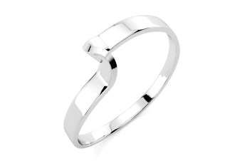 .925 Classic  Wedding Band-Silver Size US 9