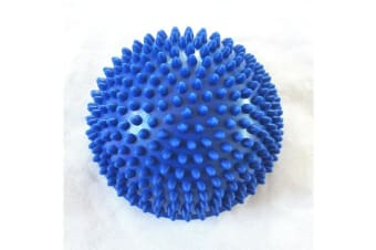 16Cm Pvc Spiky Massage Hemisphere Foot Sole Yoga Exercise Balance Ball Blue