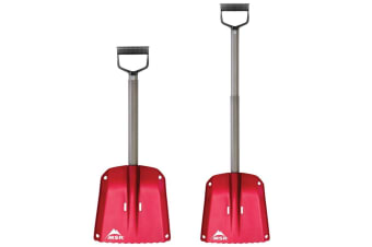 MSR Operator D Snow Shovel Snow Protection Red