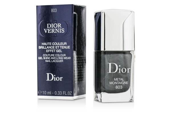 Christian Dior Dior Vernis Couture Colour Gel Shine & Long Wear Nail Lacquer - # 803 Metal Montaigne (10ml/0.33oz)