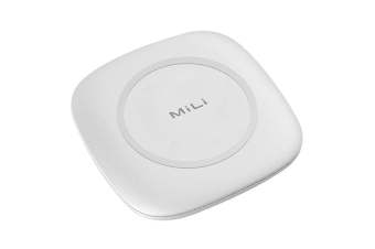 MiLi QI Magic+ II Wireless Qi Charger Pad for Samsung/iPhone X 8 8+/Samsung WHT