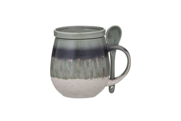 Davis & Waddell Ritual Reactive Hug Mug Set 500ml 3pc Green