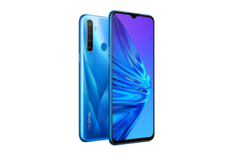 realme 5 (128GB, Crystal Blue)