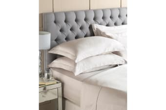 Riva Home Egyptian 400 Thread Count Flat Sheet (Taupe) (Super King)