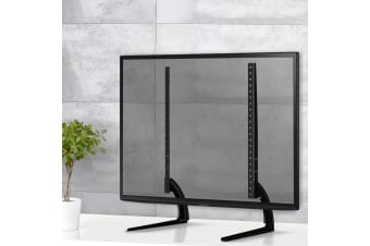 Universal Table Top TV Stand Desktop Pedestal Bracket Mount 32 to 60 Inch Screen
