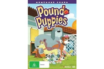 POUND PUPPIES HOMEWARD POUND - Rare- Aus Stock DVD NEW