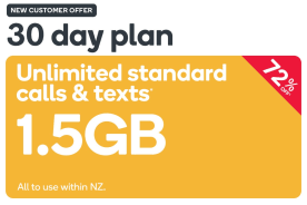Kogan Mobile Prepay Voucher Code: SMALL (30 Days | 1.5GB)