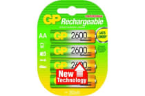 Gp 2600Mah Aa Nimh Pack Of 4
