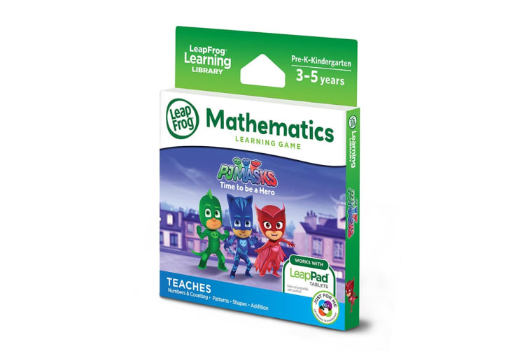LeapPad Learning PJ Masks: Time to Be a Hero Mathematics Game
