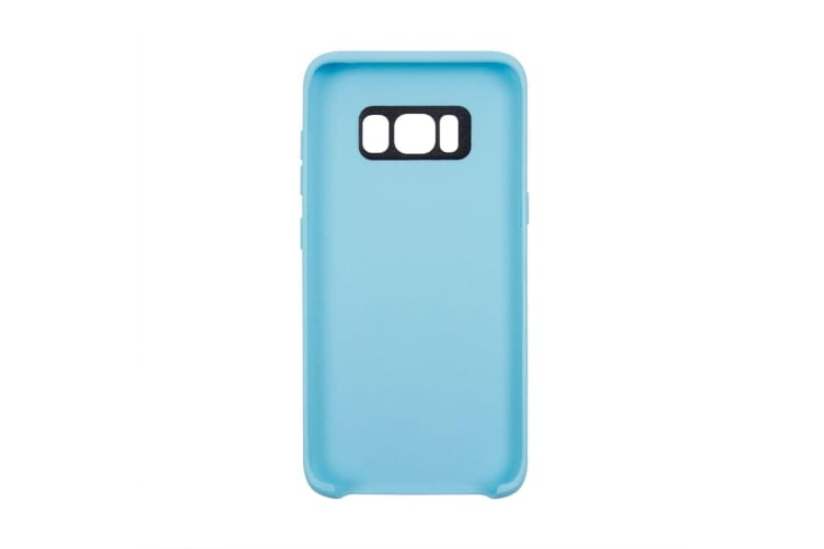 For Samsung Galaxy S8 Case Smooth Classic Slim Durable Protective Cover Blue