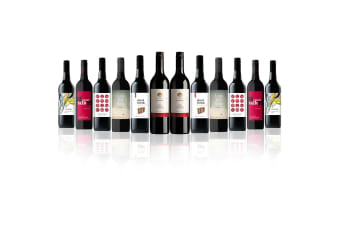 Mixed Red Dozen feat. De Bortoli Willowbank Shiraz Cabernet (12 Bottles)