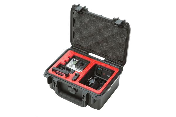 SKB iSeries 0705-3 Single GoPro Case Waterproof - Black
