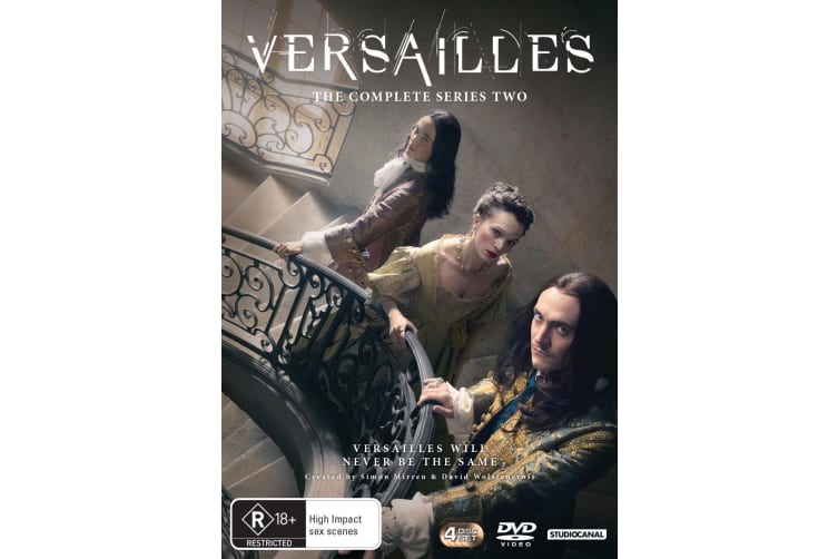 Versailles The Complete Series 2 DVD Region 4