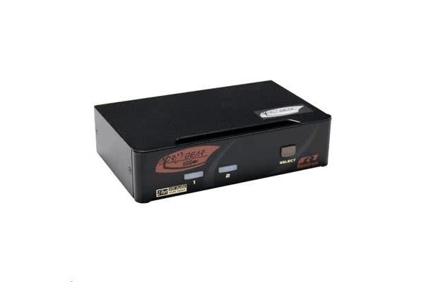 Rextron PAAG-112  2 port DisplayPort USB KVM  with Audio.     Cables Purchased Seperately