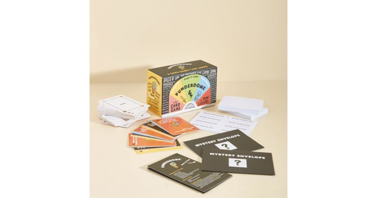 Punderdome - A Card Game For Puns | Gadgets & Novelties |