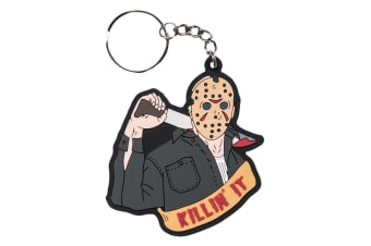 Friday the 13th Jason Voorhees PVC Keychain