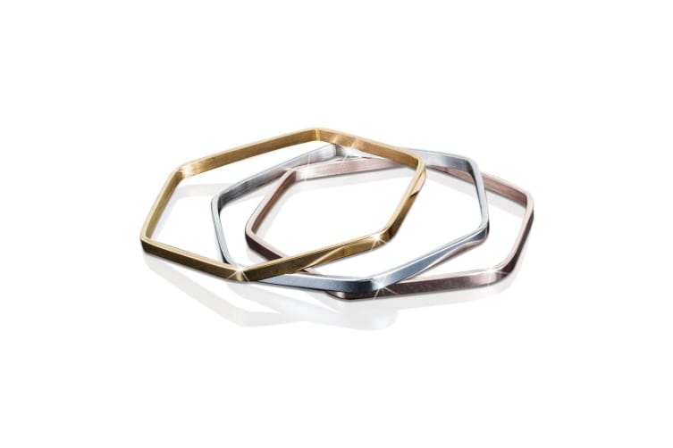 Momentum Bangle-Gold