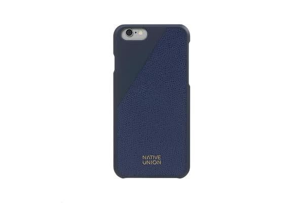 Native Union iPhone 6/S Clic Leather Case - Marine Blue